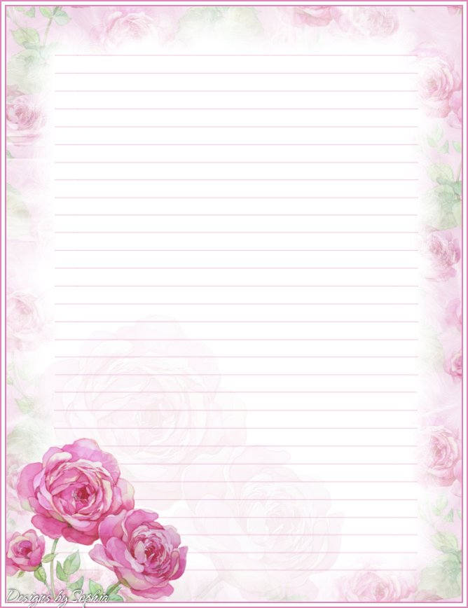 Tactueux image in printable stationaries