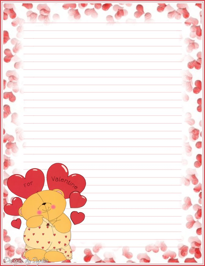 Printable Kids Writing Paper free Writing Paper free