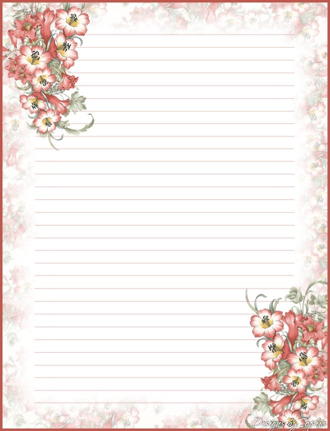 1000+ images about Free Printable Stationary! on Pinterest ...